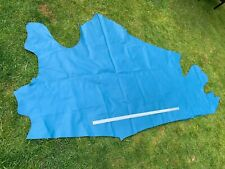 Sky Blue Real Leather Upholstery cow Hide 17sq ft 1.1 mm Craft WSH6P