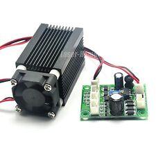 635nm 638nm 500mw 12V Focusable Orange-Red Dot Laser Diode Module w/ TTL & Fan