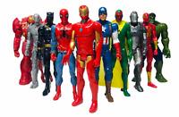 "Hasbro Marvel Avengers Titan Series 12"" Action Figures Bundle HulkBuster, Thor"