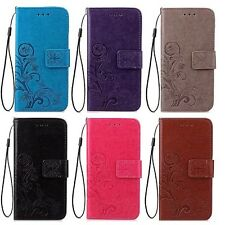 COQUE ETUI HOUSSE PORTEFEUILLE FLOWER LUXE CUIR NEUF IPHONE 5 5S SE 6 6S 7 8 X