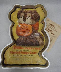 Playful Puppy Cake Pan from Wilton 7836