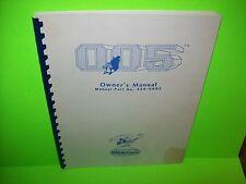 Sega Gremlin 005 Original Video Arcade Game Owners Service Manual w/ Schematics