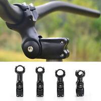 Adjustable Angle Bicycle Handlebar Fork S-tem Extender Riser for MTB Road Bike