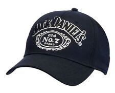 Jack Daniels Men's Old #7 Performance Baseball Ball Cap Hat Black/White JD77-117