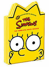 The Simpsons - Series 9 - Complete (DVD, 4-Disc Set) head shaped box