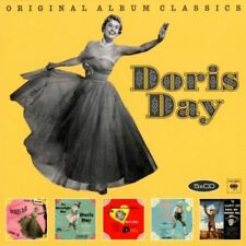DORIS DAY 5CD NEW Lullaby Of Broadway/On Moonlight Bay/I'll See You/By The Light