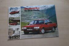 155128) Subaru Libero - Justy - 1800 Prospekt 198?
