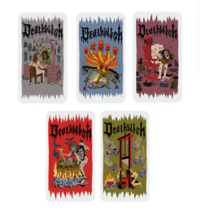 DEATHWISH  SKATEBOARDS - SKATE WITCHZ STICKERS 5 TO CHOOSE FROM - NEW SCARY RAD