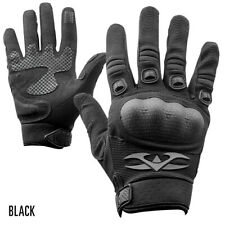Valken Tactical Zulu Gloves Black - X-Large H 000013Ae ard Covered Knuckles Padded Palms