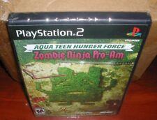 Aqua Teen Hunger Force Zombie Ninja Pro-Am (Sony PlayStation 2, 2007) PS2 New