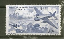 FRANCE : vignettes 1946 : salon de la philatélie
