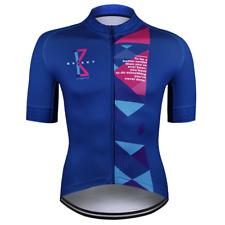 Baisky Cycling-Bike Tops Cycling Jersey Spirit-Men-Geometry Blue (T2028B)