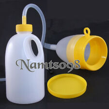 1700ml Male Bed Urinal Toilet Pee Bottle with Tube for Self-care Patient