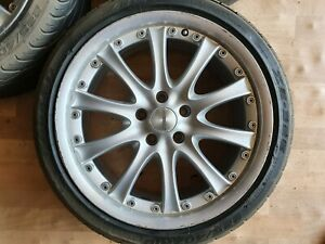 Zender Authentic model 18x8.5 ET35 5/112 Wheel with tyre each, 3 available