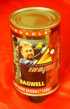 """1997/98 Pinnacle Baseball Card """"Can of Cards"""" Houston Astros Jeff Bagwell"""