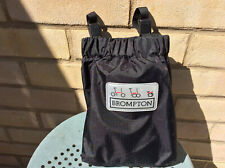 BROMPTON SADDLE BAG TRANSIT COVER - WORLDWIDE P&P