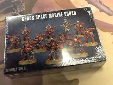 40K Warhammer Chaos Space Marine Squad NIB Sealed