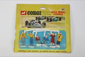 Corgi 1502 Plastic Spectators Figures, Mint in Unopened Pack