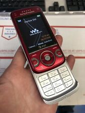 Sony Ericsson - Walkman W760A At&T Cellular Phone Basic Slider Cell Red Used