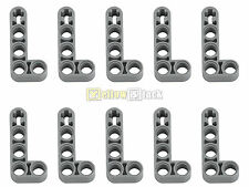 10x lego ® Technic 32140 L-liftarm 2 x 4 nuevo-gris claro ancha nuevo Grey thick