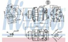 NISSENS Compresseur de climatisation 12V 89418 - Pièces Auto Mister Auto