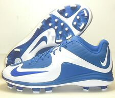 New Nike Air MVP Pro 2 MCS Baseball Cleats Size 12.5 Royal Blue White Molded