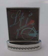 E Life is good FOLLOW YOUR PATH mini figurine Ganz miniature plaque sign