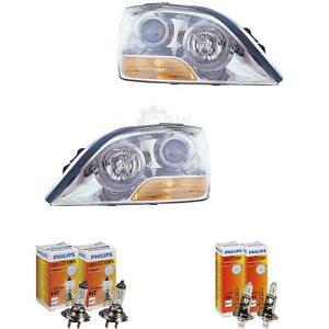 Scheinwerfer Set für Kia Sorento I 1 JC Bj. 06-09 Facelift H7+H1 inkl. Lampen