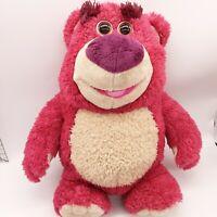 "Toy Story 3 Signature Collection Lotso Lots-O-Huggin' Bear Interactive Plush 15"""