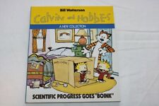 Calvin and Hobbes, Watterson, Tome 6, Warner books, Scientific Progress