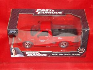 Jada 1/24 Fast & Furious Ford SVT Lightning Red - 99574 - New