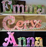 ❤️Freestanding wooden name. Joined MDF Letters Personalised & decorated 15cm❤️
