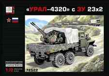 Gran 1/72 Model Kit 72522 URAL-4320 Truck with ZU-23-2 Cannons