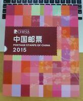 CHINA 2015-1  2015-29  Album 全年年票 Whole Year of Ram FULL stamp + Booklet