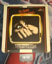 He Knows You're Alone 1980 CED VideoDisc  MGM/UA Horror TOM HANKS 1st Movie OOP