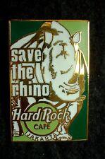 HRC Hard Rock Cafe Jakarta Save the Rhino 2000 Rectangle LE500
