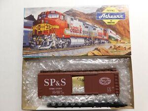 HO Scale - Athearn - Spokane, Portland & Seattle 40' Box Car Train #11058