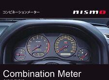 JDM OEM NISMO COMBINATION METER CLUSTER NISSAN SKYLINE R34 GT-R BNR34 NEW JAPAN