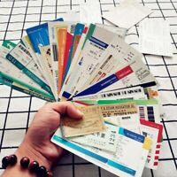 55 Unique Boarding pass, flight ticket stickers