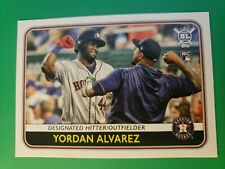 2020 Topps BL Yordan Alvarez Rookie Card #123..Houston Astros