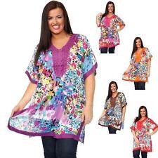 Rayon Mini Floral Plus Size Dresses for Women