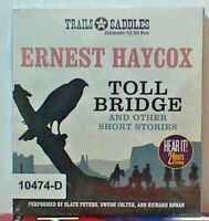 NEW *Sealed* AUDIO BOOK on CDs TOLL BRIDGE Ernest Haycox 02