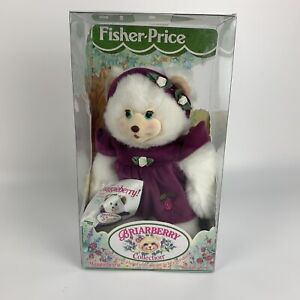 Maggieberry Plush Bear Doll With Book - Briarberry Collection - Fisher-Price