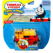 Thomas The Tank & Friends Fisher Price Take-N-Play Diecast (Die Cast) Ben. NEW