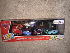 "DISNEY CARS ""REPORTING LIVE FROM RADIATOR SPRINGS 9 CAR GIFT PACK"" SCALE 1:55"