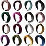 Women Girl Fabric Headpiece Twist Bow Knot Cross Headband Hair Band Headwear New