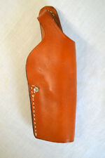 "Brauer Leather Belt Holster RH Large Frame 4""-5"" auto BBA88 Sig, Ruger, S&W"