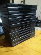 15 Empty DVD Cases - plastic covers are still intact.