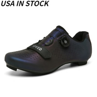 Self-locking Road Cycling Shoes Men SPD Cleat Bike Shoes Look Delta Peloton Shoe