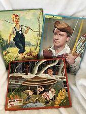 Vintage Peter Pan Puzzle/ Child With Dog / The Little People Puzzle: Walt Scott